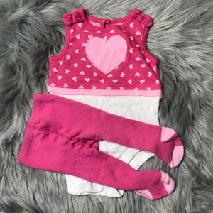 Garanimals tank top & tight outfit 6-9M